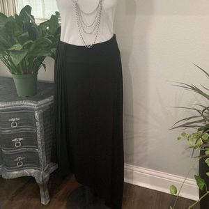 White House Black Market Asymmetrical Maxi Skirt